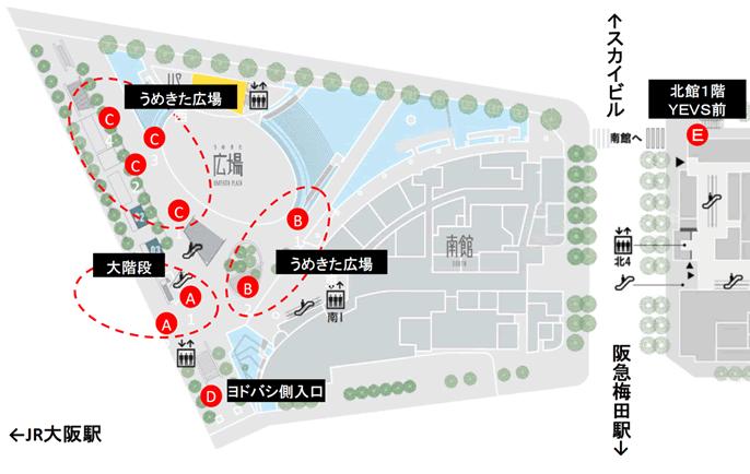 グランフロント大阪ストリート